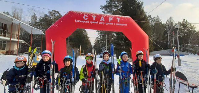 Зимний туристский слет среди учащихся по спортивному туризму на лыжных дистанциях