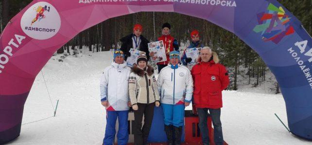 Краевые соревнования по лыжным гонкам на призы ЗМС России А.Сидько